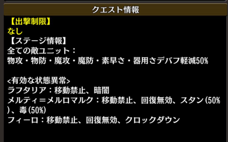 ランクアップクエスト 盾の勇者 Lv1 情報